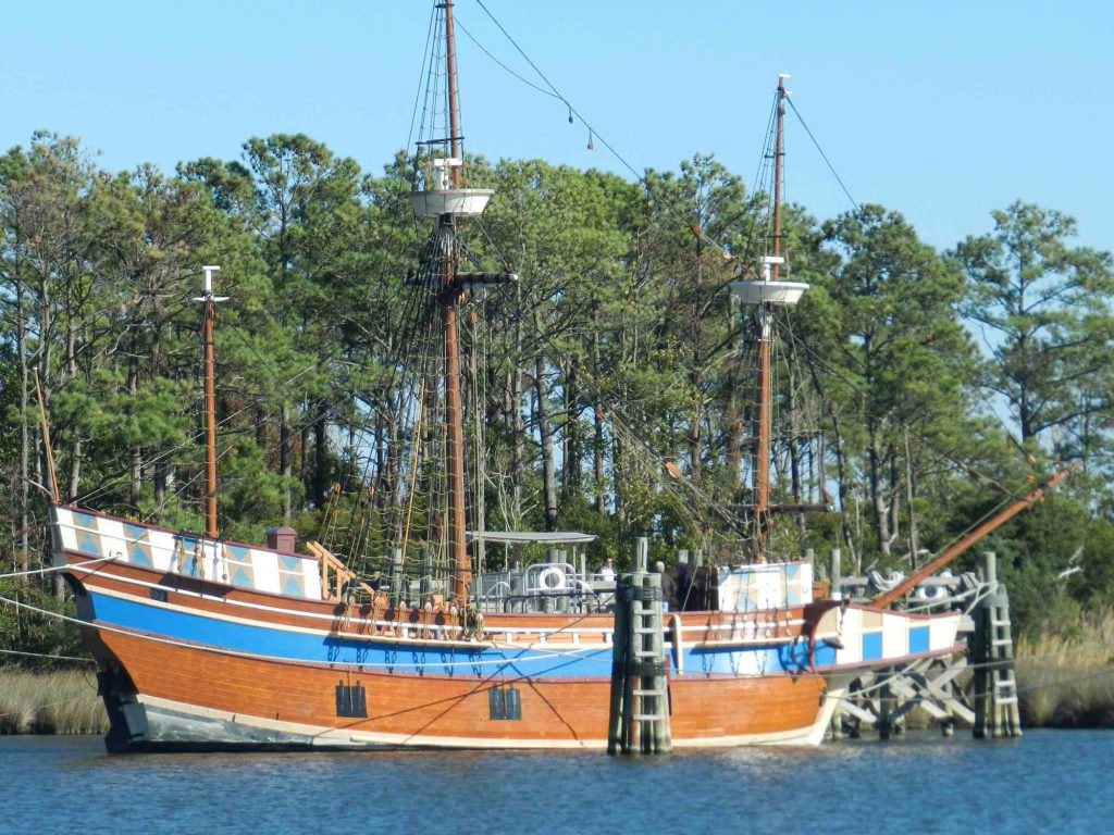Roanoke Island Festival Park 16th Century Sailing Ship