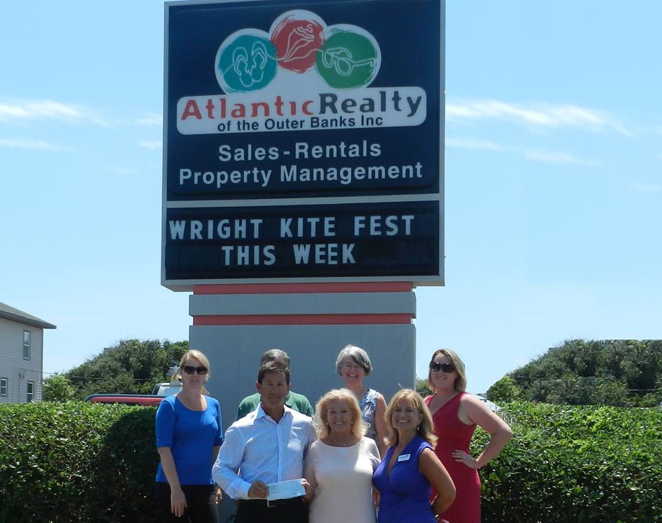 Outside Atlantic Realty of the Outer Banks