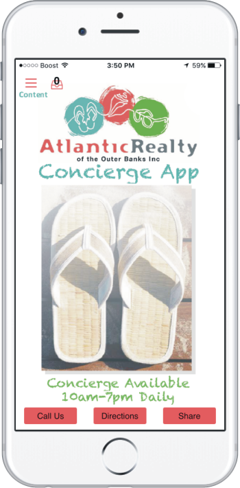 Download Our Outer Banks App Atlantic Realty Nc