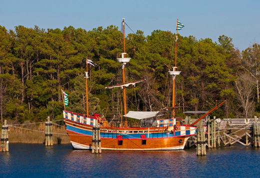 Elizabeth II Roanoke Island